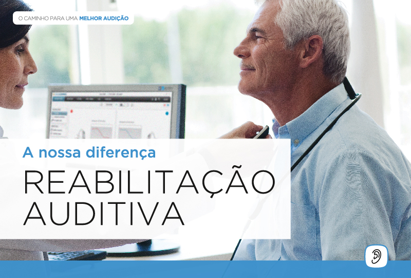 Rastreio Auditivo e Reabilitação Auditiva é o que destingue a WIDEX