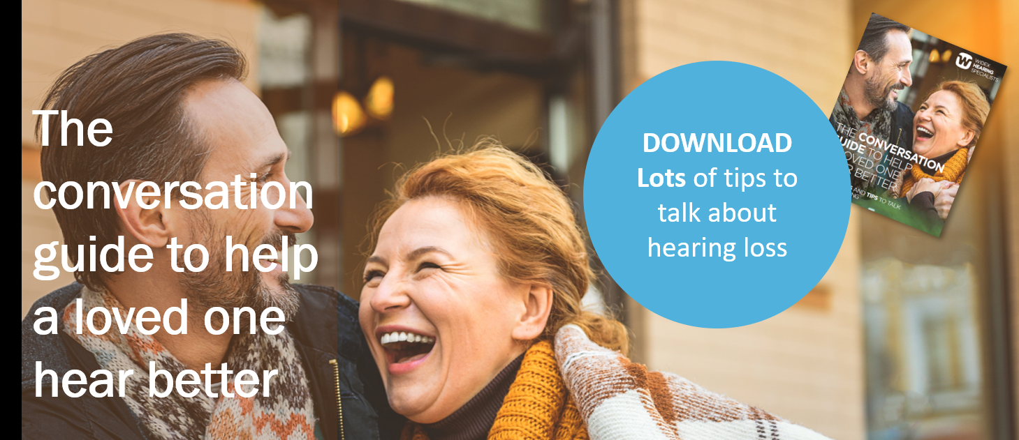 Help a loved one to better hearing - Widex hearing specialist